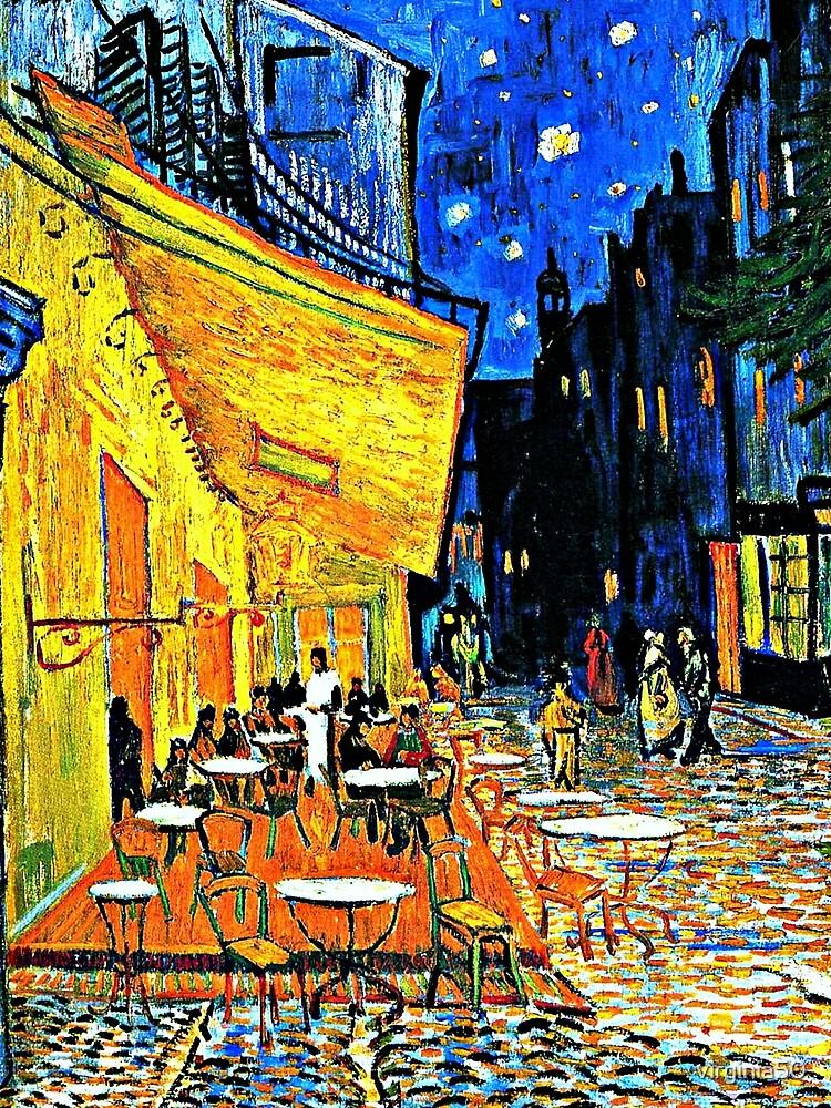 Van Gogh - Cafe Terrace, Place-du-Forum-Arles by virginia50