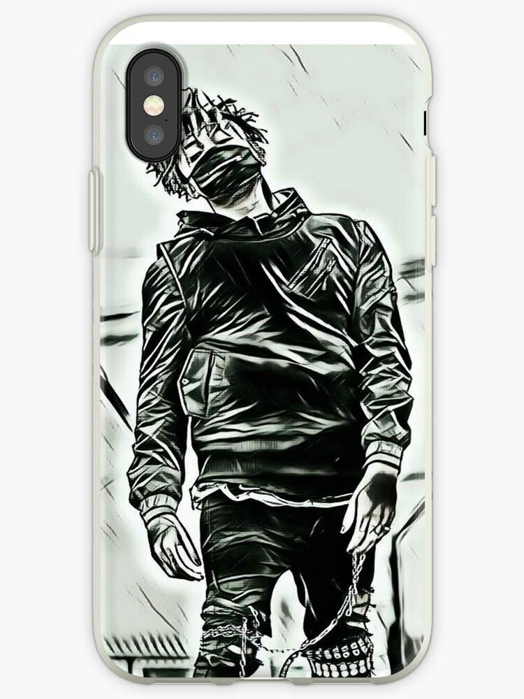 'Scarlxrd black & white body design' iPhone Case by IjazAhmed1231