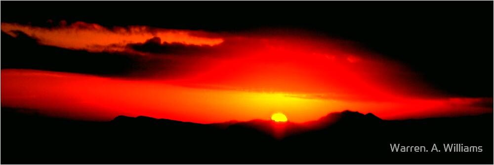 8th Dec Sunset by Warren. A. Williams
