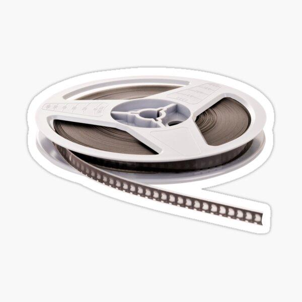 Super 8 Film Reel Sticker