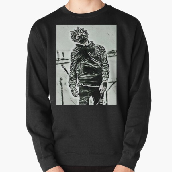 Scarlxrd corps noir et blanc Sweatshirt épais