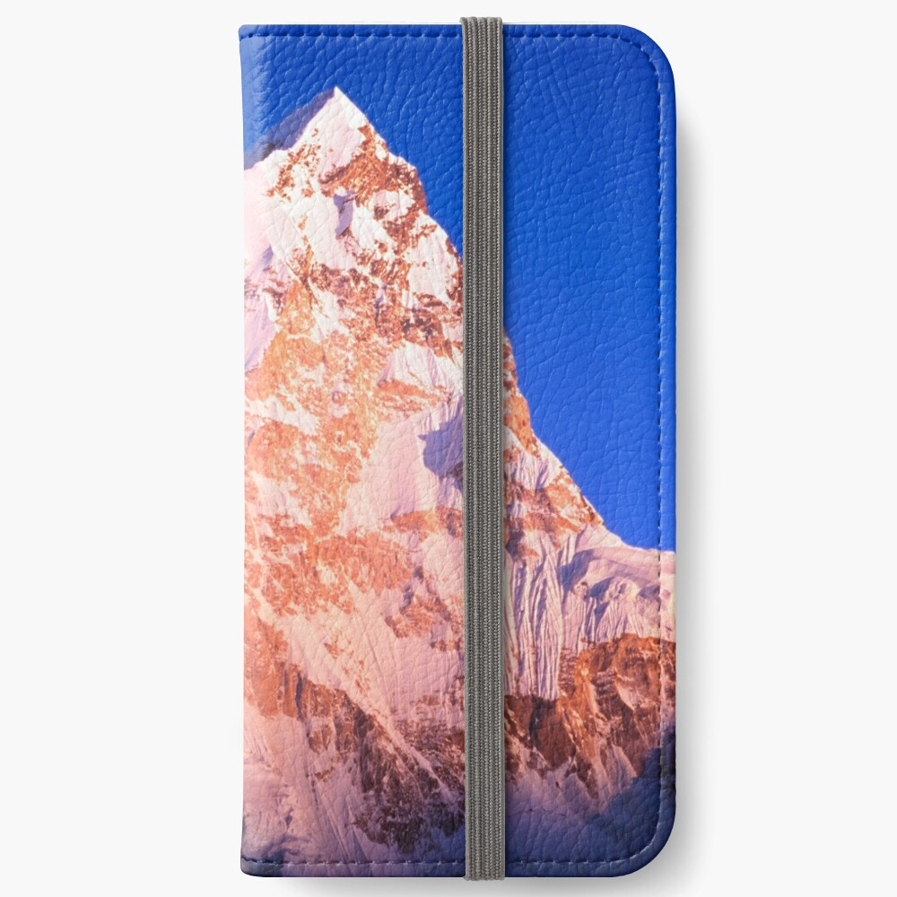 Epic Mountain Sunset iPhone Wallet