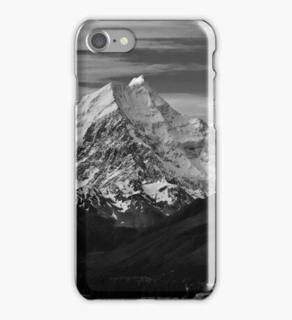 Towering over Lake Pukaki, New Zealand iPhone Case/Skin