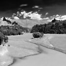 Rakaia Gorge, New Zealand by Norman Repacholi