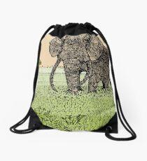 AFRICA Drawstring Bag