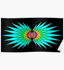 Mythical Bird Wings  Poster