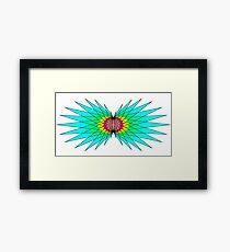Mythical Bird Wings Framed Print