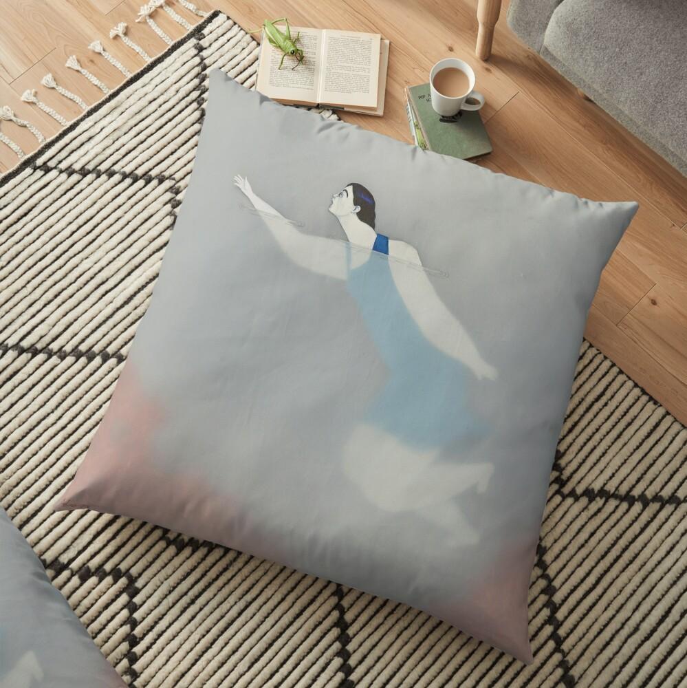 Water Woman VIII Floor Pillow