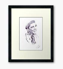 Sir Norman Wisdom Framed Print