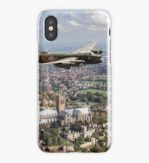 Lancaster City of Lincoln over Lincoln  iPhone Case