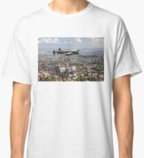 Lancaster City of Lincoln over Lincoln  Classic T-Shirt