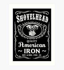 SHOVELHEAD 3 (JD CONE) Art Print