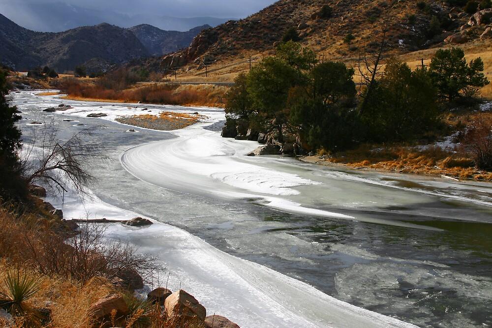 Colorado's Icy Arkansas River by Patricia Montgomery