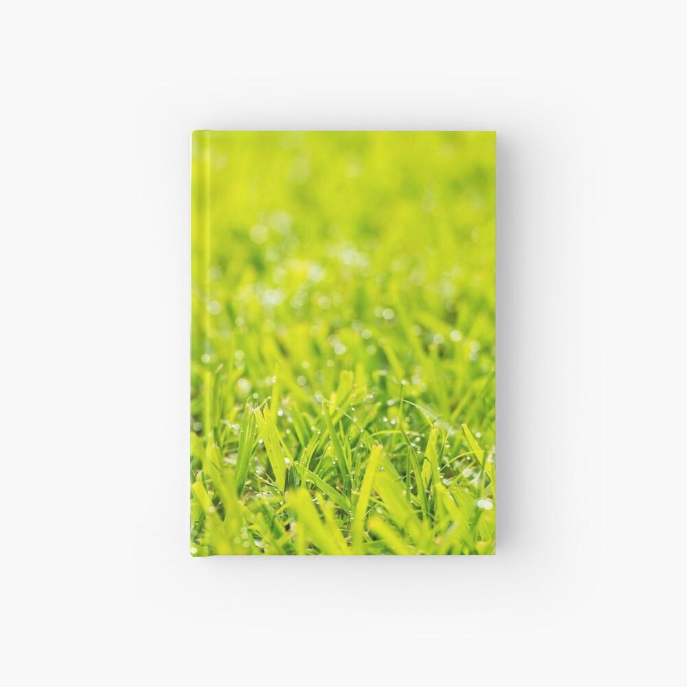 Grass Dew Drops Hardcover Journal