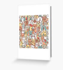 Pets Greeting Card