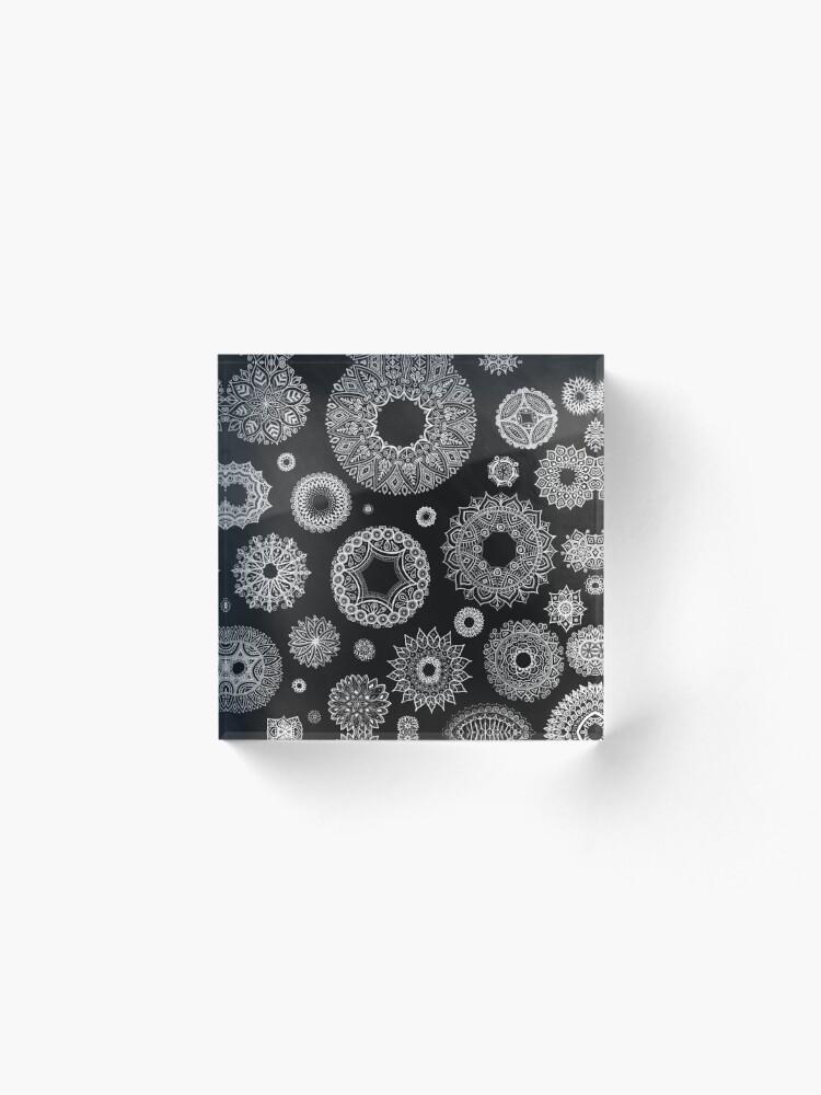 Vista alternativa de Bloque acrílico Tonos de gris