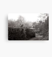 old studio in Lamorna Metal Print