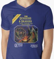 Vintage Dungeons & Dragons Expert Rule book (Remastered) Men's V-Neck T-Shirt