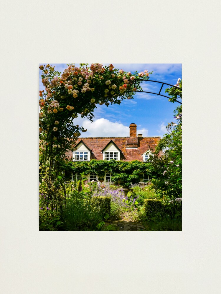 Alternate view of Cottage garden. v2 Photographic Print