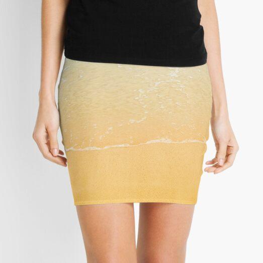 Beach Background Mini Skirt