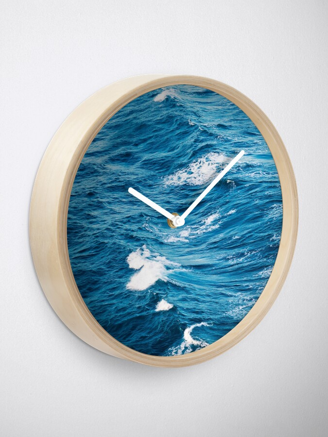 Alternate view of Ocean Waves Clock