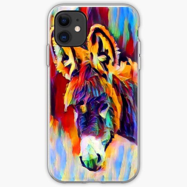 Donkey iPhone Soft Case
