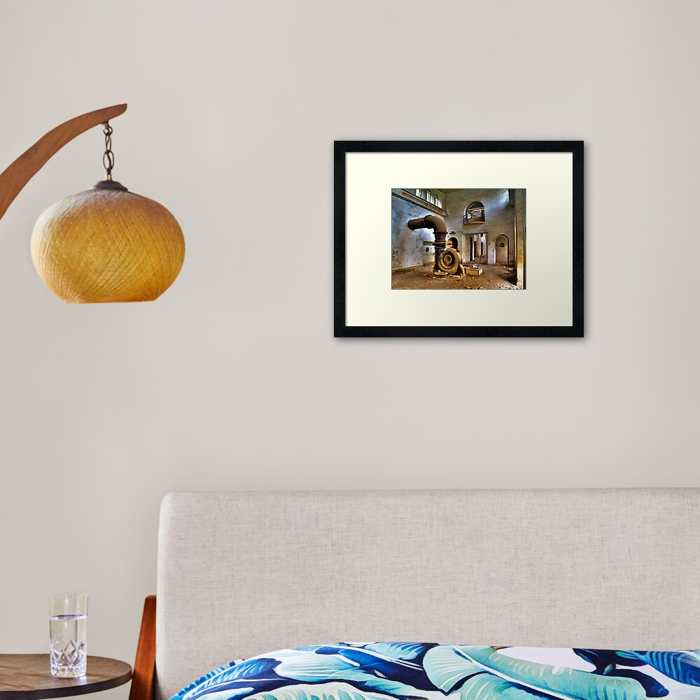 central2 Framed Art Print