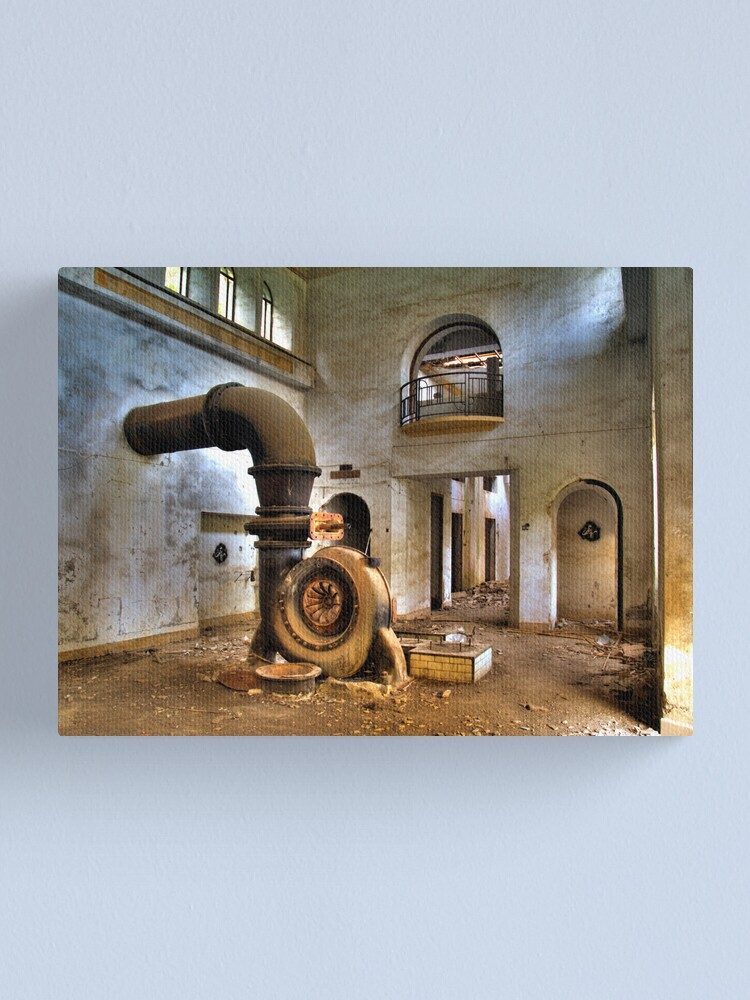 Alternate view of central2 Canvas Print