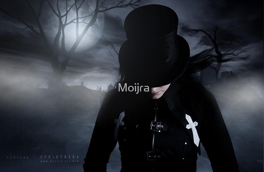 Dark moon rising by Moijra