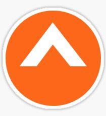 elevation church logo Sticker