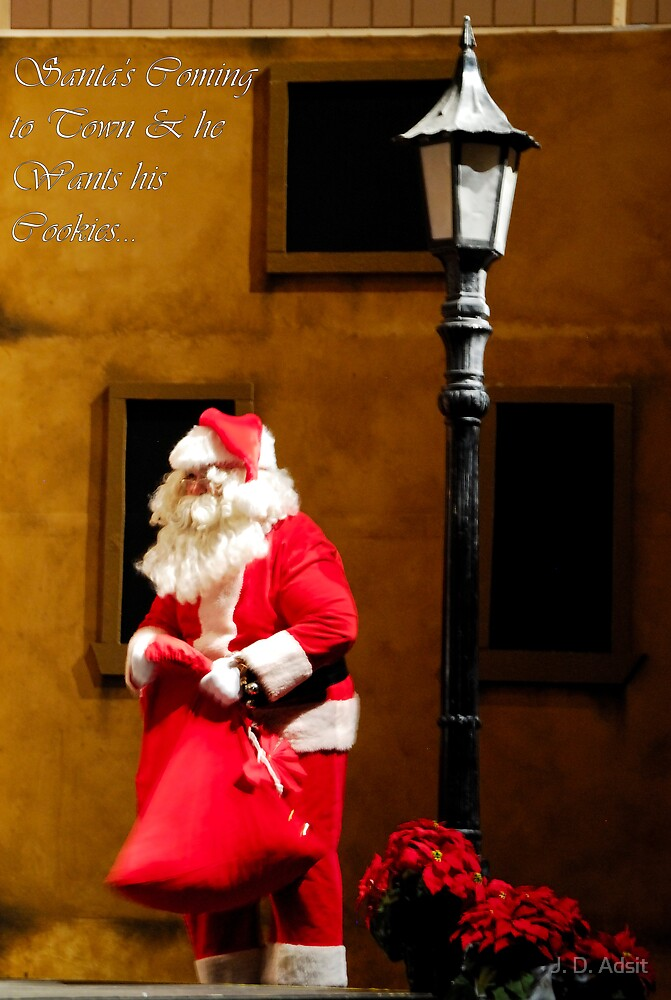 Santa Wants his Cookies... by J. D. Adsit