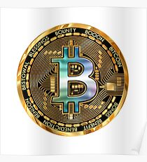 Bitcoin crypto gifts Poster
