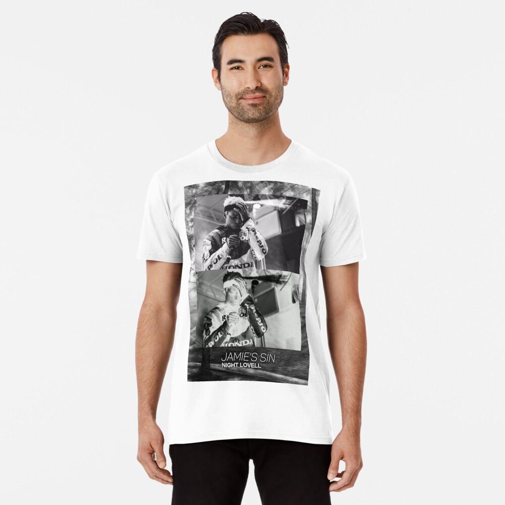 Nacht Lovell Mellow Grafik Premium T-Shirt