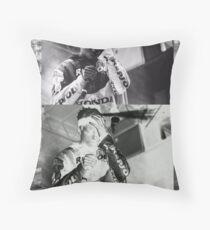 Night Lovell Mellow Graphic  Throw Pillow