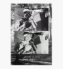 Night Lovell Mellow Graphic  Photographic Print