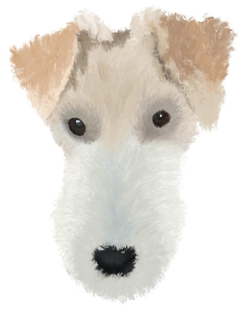 Wire Hair Fox Terrier Dog\