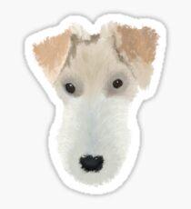 Wire Hair Fox Terrier Dog Sticker