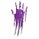 Plain Purple Handprint by QueerHistory