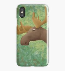 Moose Madness iPhone Case