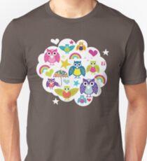 Owl cloud T-shirt  Unisex T-Shirt