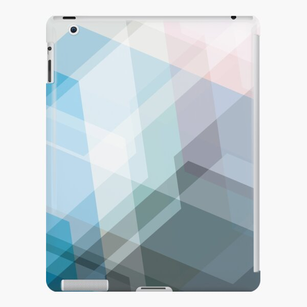 Transparent Background Abstract Art iPad Snap Case