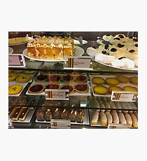 Sweet Food Cabinet Photographic Print