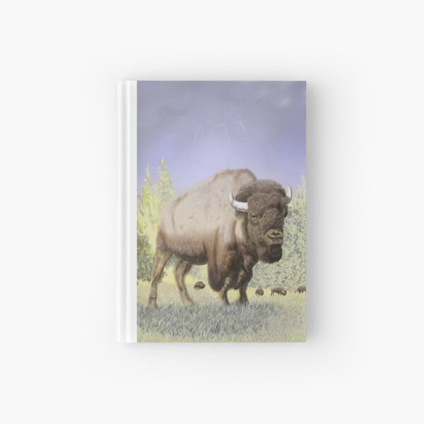 Bison on the Range Hardcover Journal
