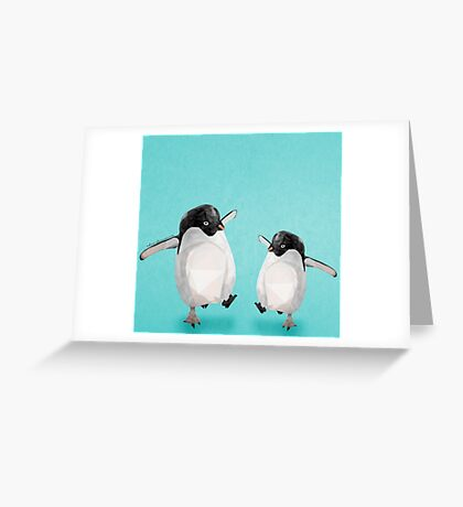 Dance to the beat Greeting Card