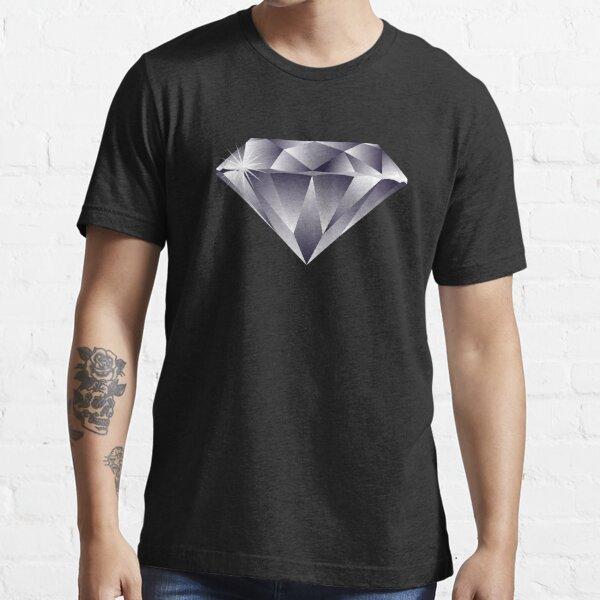 Sparkly Precious Diamond Emoji Essential T-Shirt
