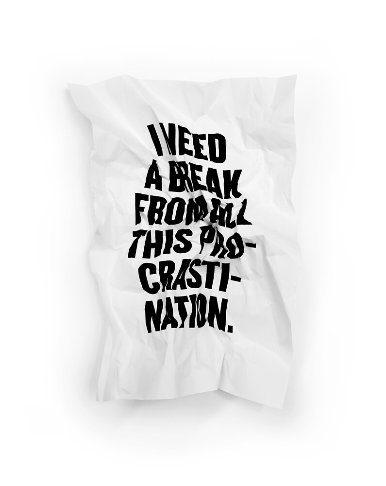 I NEED A BREAK by Steve Leadbeater