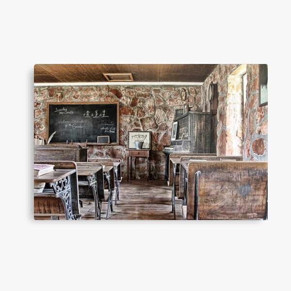 One Room School House Metal Print