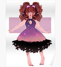 Night Sky Dress Poster