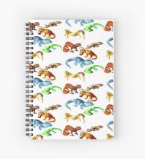 Cuaderno de espiral Gecko Galore