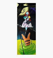 Sally The Nightmare Before Christmas Tightrope Girl Colored Photographic Print